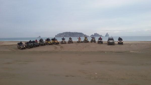 excursió a l'Escala quads